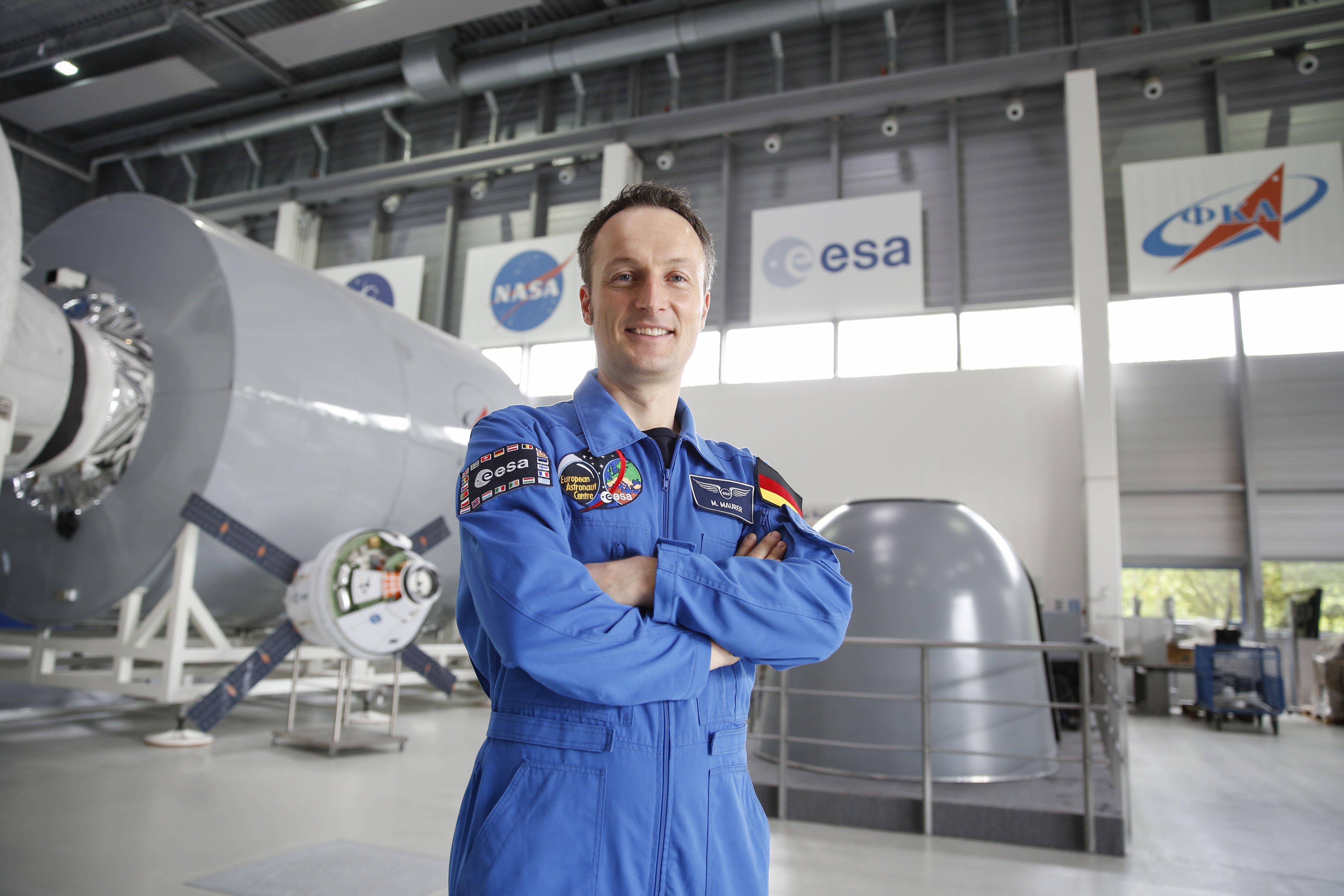 Dr. Matthias Maurer