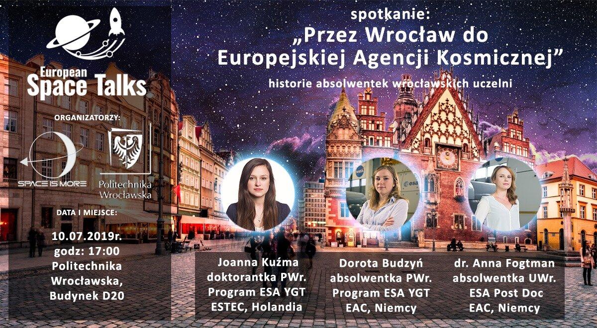 Through Wroclaw to ESA