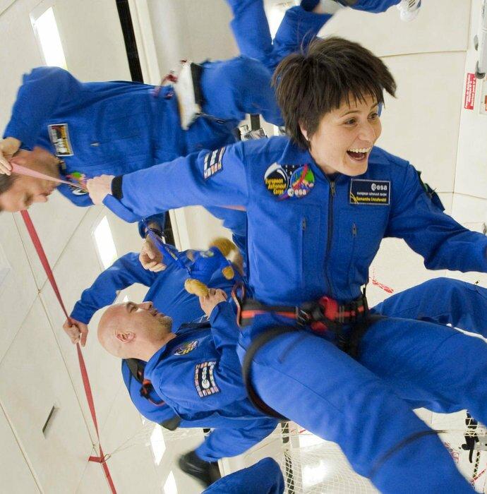 Un vol parabolique – une expérience pour moi ?