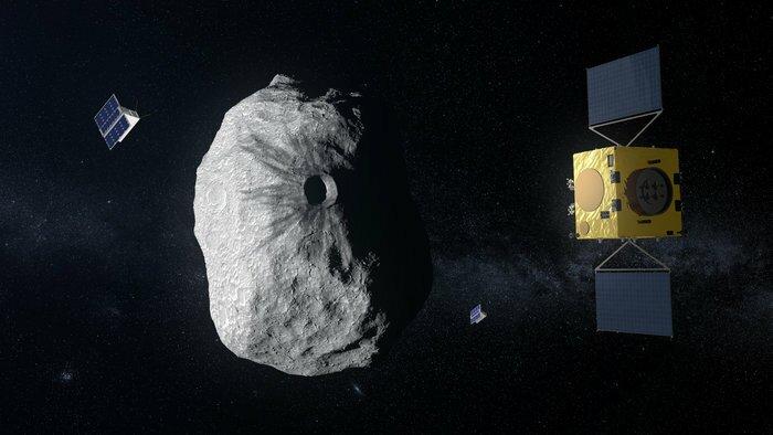 Une menace de l'espace: les astéroïdes
