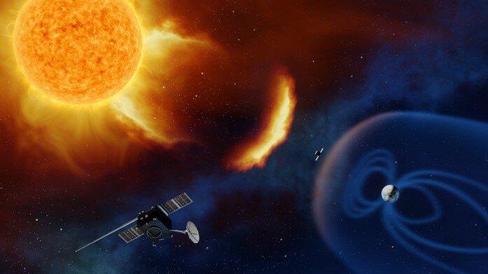 Une menace de l'espace : les éruptions solaires
