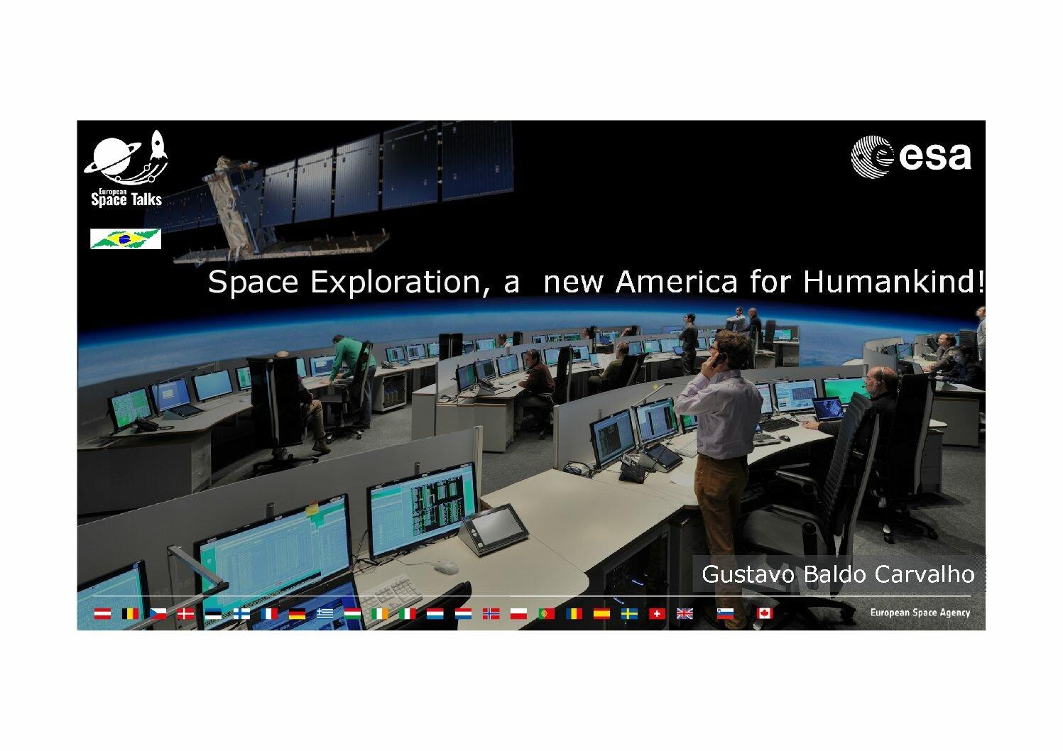 European Space Talks at School E.E. Otoniel Mota in Brazil