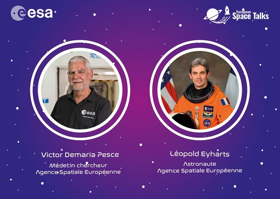 Rencontre Spatiale avec un Astronaute et un Médecin-Chercheur – Semaine de l'Espace à Mérignac