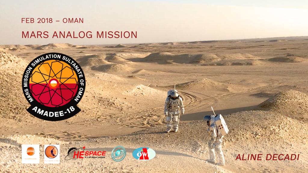 Simulation Martienne sur Terre