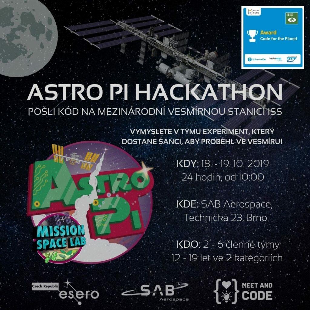 Astro Pi Hackathon Brno